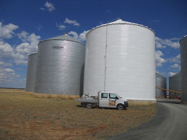Sealed, Gastight and Painted Silo